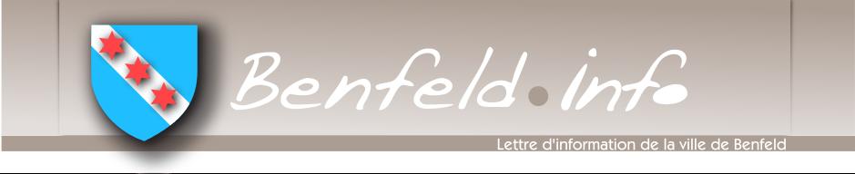 Lettre d'info Benfeld